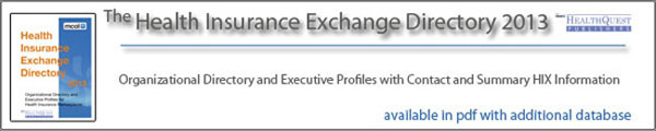Health Insurance Exchange Directory 2013